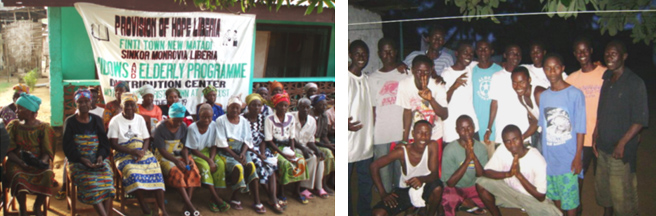 Our widows come each Saturday for rice.                                    Our new boys all need clothes     This Christmas we hope to give them oil + soap.