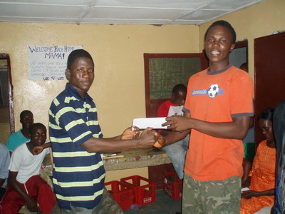 Exodus recieves award for carpentry skills