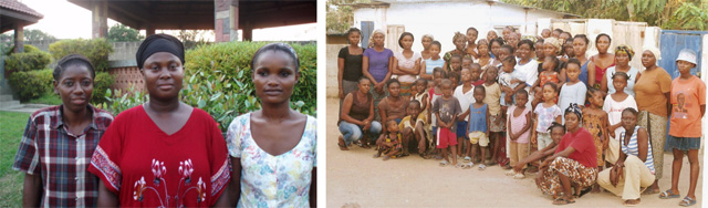 Provision of Hope Empowerment Leaders and  Single Mothers with children on the Refugee Camp