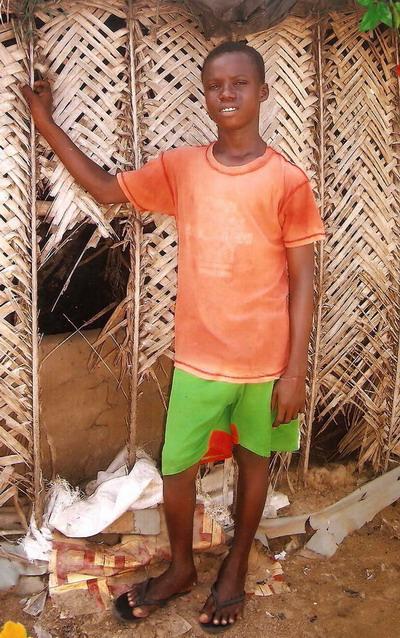 REFUGEE BOY AT KRISAN SANZULE CAMP NEEDS HELP
