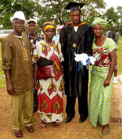Sumo Gibson's Graduation!