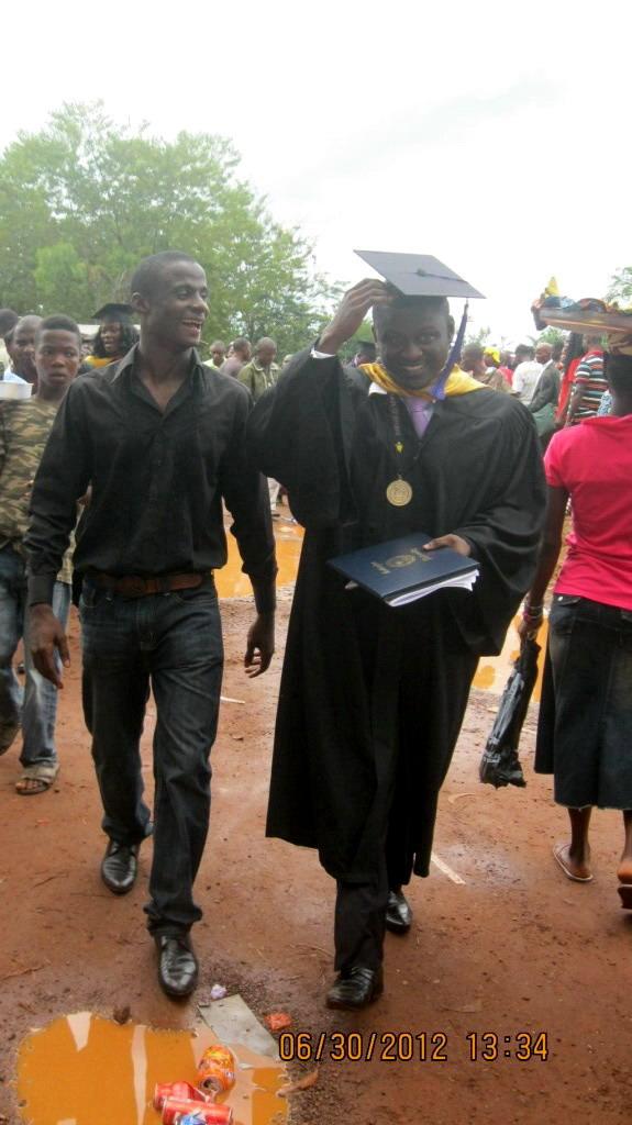 Austin Seeboe you are a Graduate of Cuttington University!!