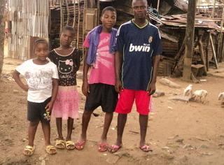 MOTHER DIES LEAVING 4 CHILDREN