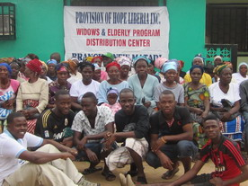 Widows with Mercy Team Leaders