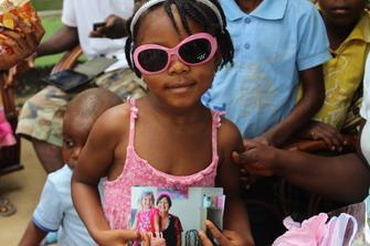 Bernice loves her sun glasses