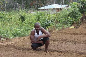 Joseph ready to plant