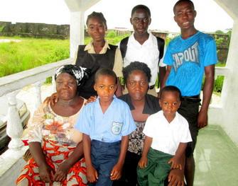 Christiana with Family and Grandma 2