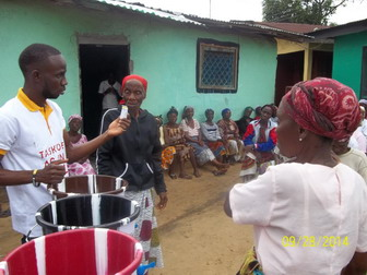 Ebola Prevention with the widows
