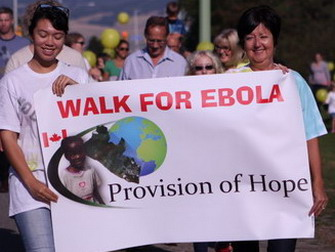 Walk for Ebola in Kelowna