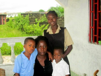 Christiana with younger children 3