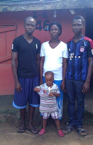 Eddie Nyeswah and Family 2