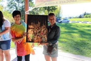 Anna Lisa Wiens wins Children of the World