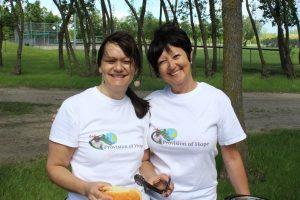 Elaine Peters and Karen Barkman