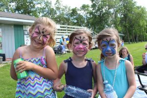 Face Painted Sisters 20