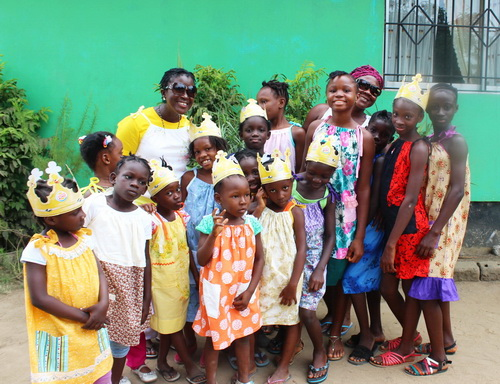 """""""Little Dresses for Africa"""" gifted us with over 35 sundresses! They were all very well made by a women's group in Saskatchewan. Thank you!!"""