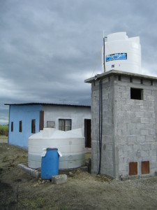 Well and Water Reservoir
