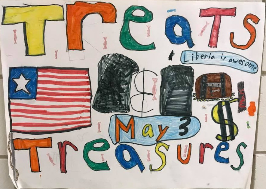 Treats and Treasures is a WHOLE School Effort.