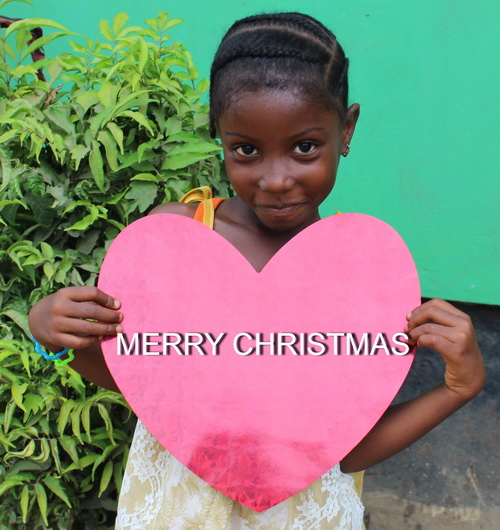 Merry Christmas from Liberia !!