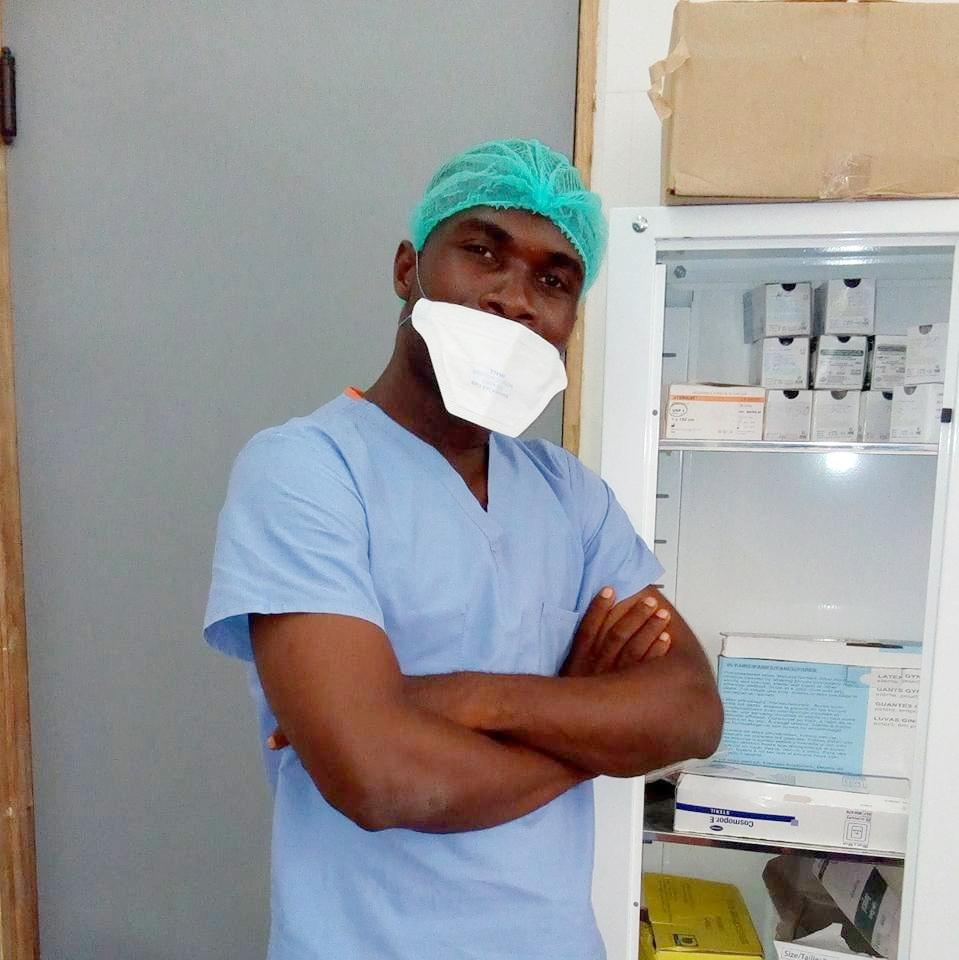 Andrew loves being a nurse. He works at the JJ Dossen Hospital in Harper Maryland.