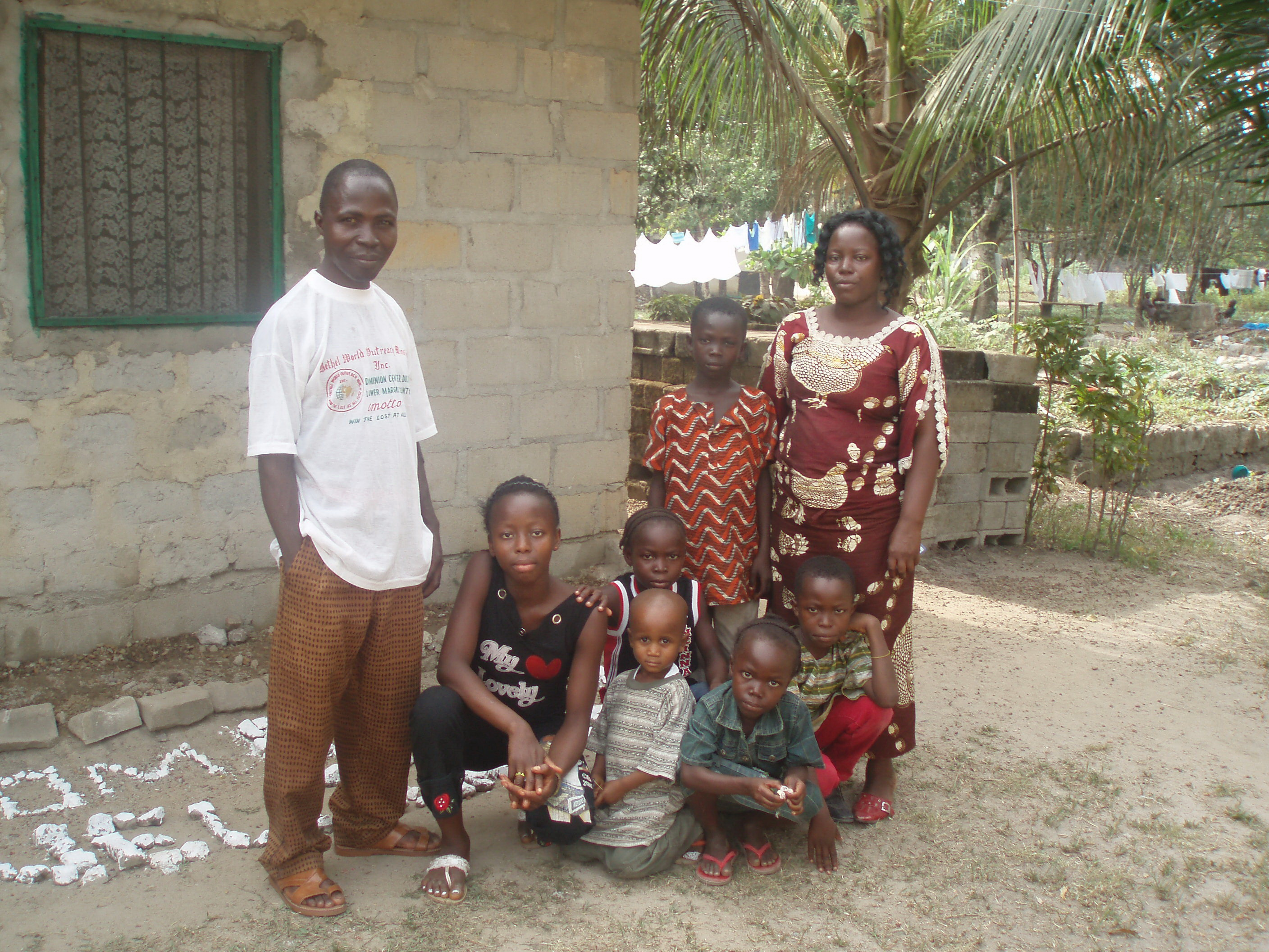 I (Karen Barkman) first met Faith's Family in 2007.  I was on a mission to find John Duwana's family and bring photos of him back to Liberia for his mother.  John fled during the war and spent years at the Krisan Refugee Camp in Ghana before coming to Canada.