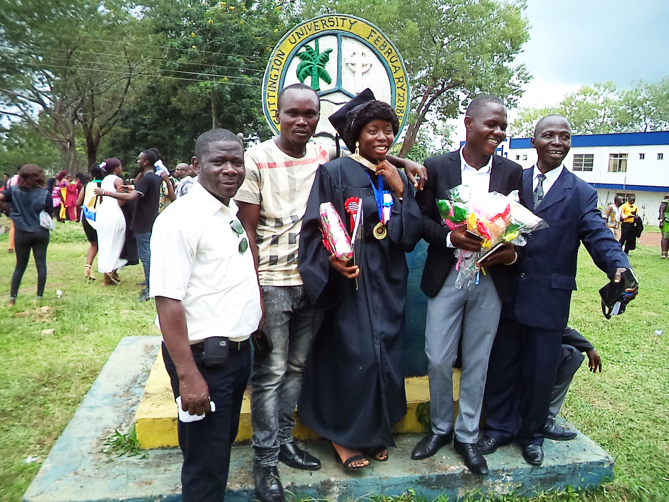 Daniel Keamue ( on the far left) represents Provision of Hope.  We thank him for always making sure that school fees were paid on time and for taking all these wonderful photos.