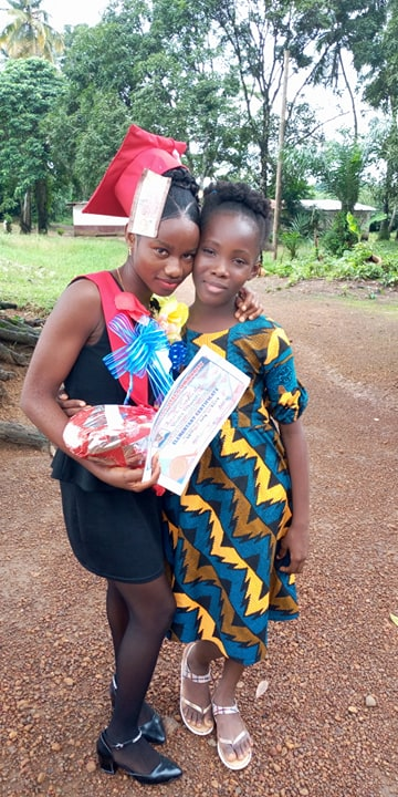 LOVETTE Gr. 6 and VIOLA Gr. 7  Both girls are being raised by single mothers.
