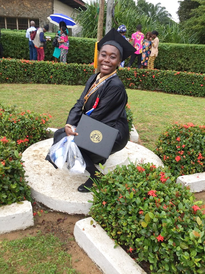 Christiana Lemu Davis plans to study nursing.