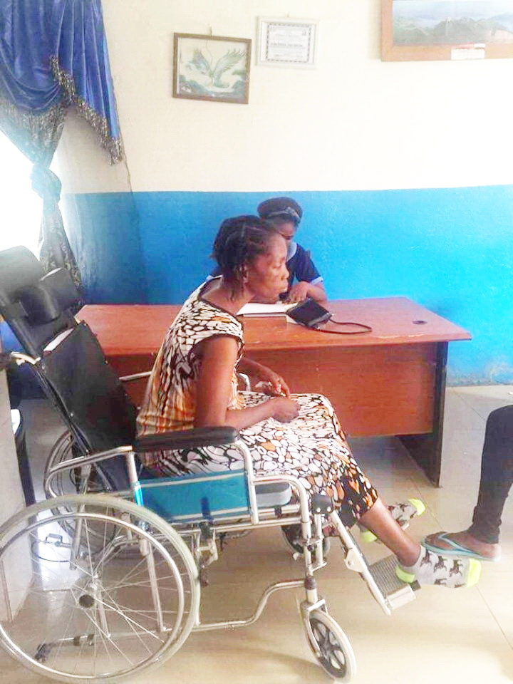 Pray for Ma Esther's full recovery.  She still has a long way to go!