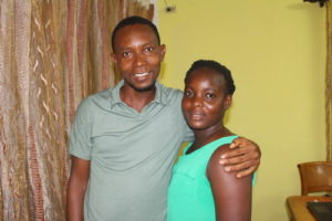 Kelvin and Sarah Engaged