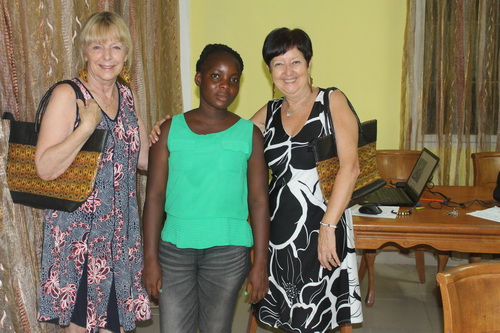 Kristine and Karen met Sarah on their last trip to Liberia in 2019.  What a sweetheart!