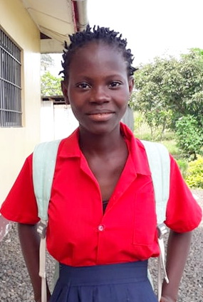 Help a child to school.  $ 300 tuition  $ 20 for school shoes. $ 15 for a uniform.