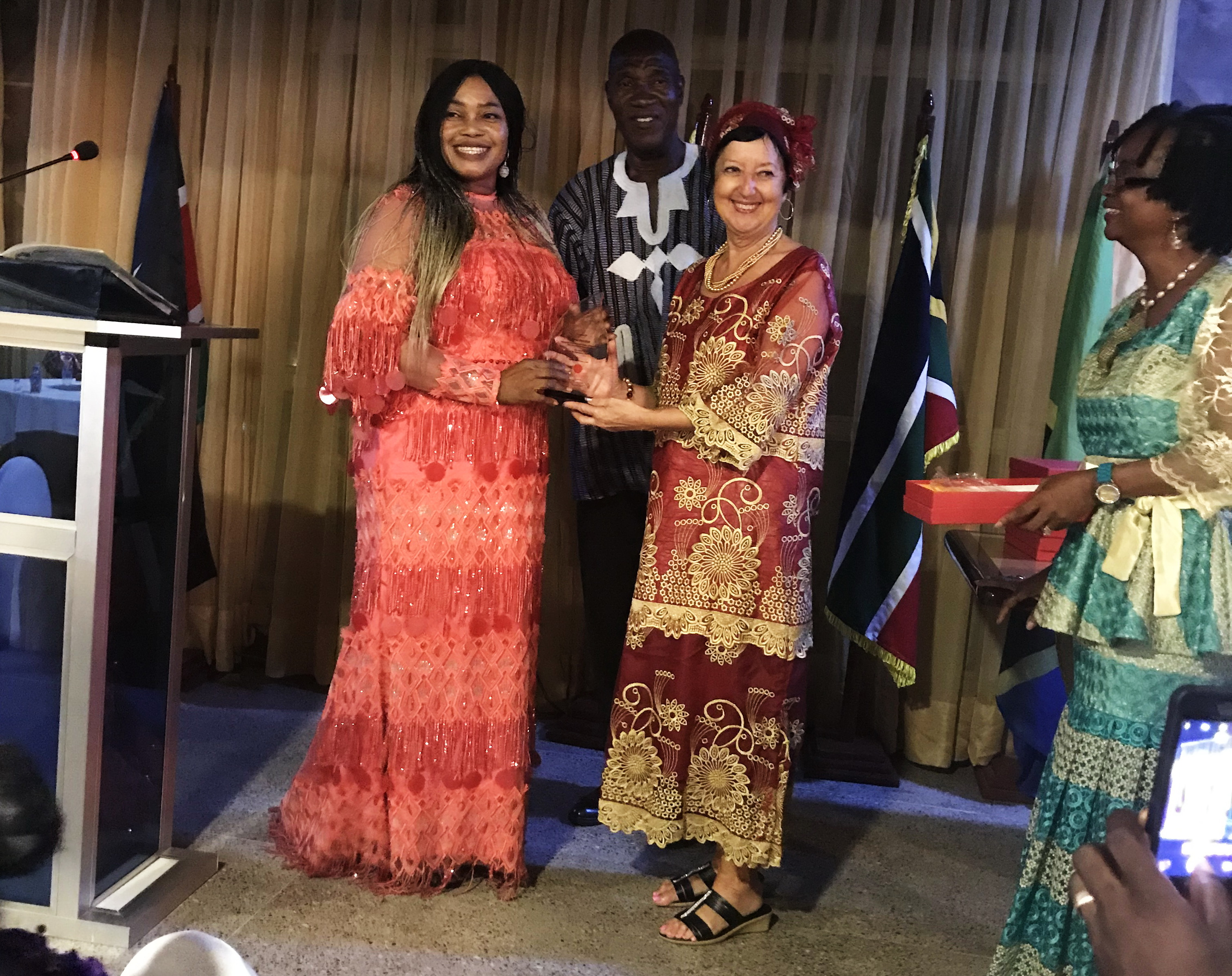 Impact Award for Service to Humanity marking 16 plus years.