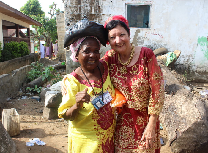 One of my highlights every year is meeting with our widows.  They are precious!!