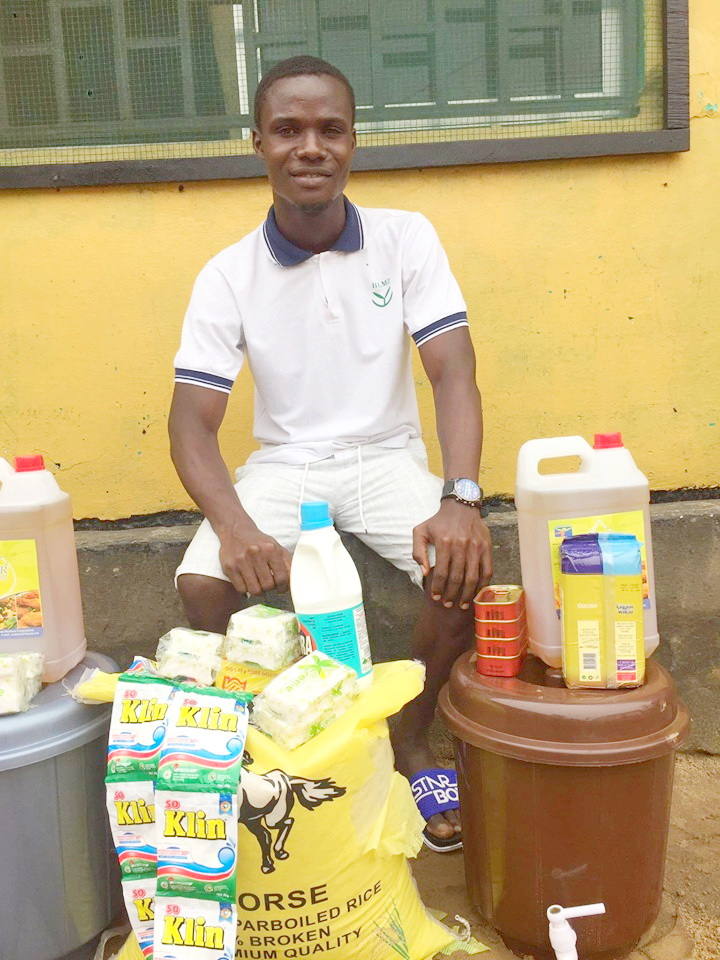 Patrick Williams was sponsored through Gr. 12 on our program.  He has a job in a school as a maintenance worker but now the schools are closed. There is no means to make money for food.