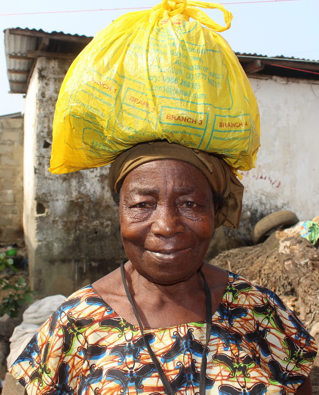 Buy a Bag of Rice for a Widow    $ 35