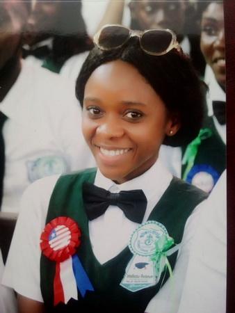 Congratulations Teta on your Graduation!!!  January 15, 2021!