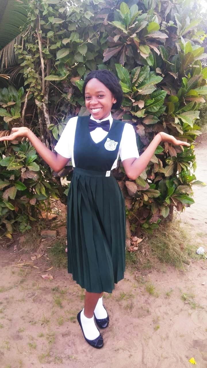 Teta is planning to study biology at the University of Liberia. She already passed the entrance exam.!