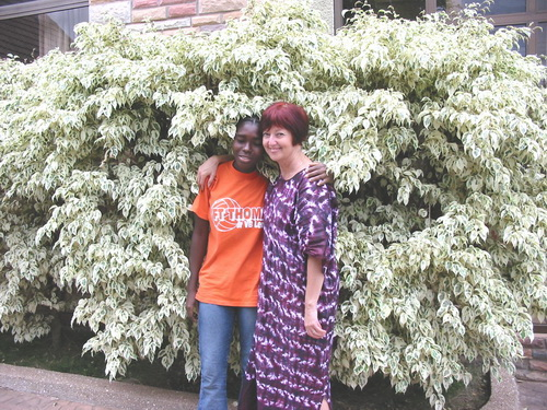 I met Felecia, Christiana's mother, on my first trip in to Liberia in 2003! Felecia knew from that point on that I would become her Canadian Mother and care for her.  She was right!!