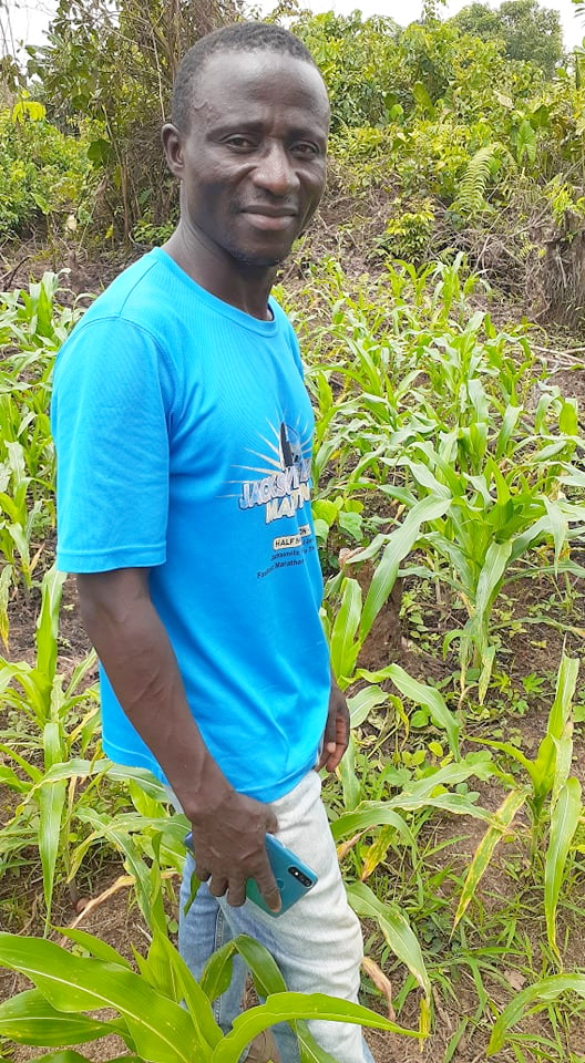 John visits our organic farm every week.  His input and help is highly appreciated.